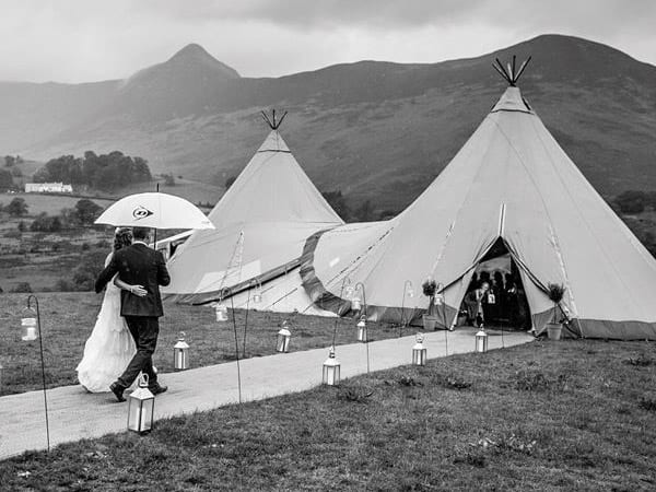 Lake District wedding venue at Brackenrigg Keswick