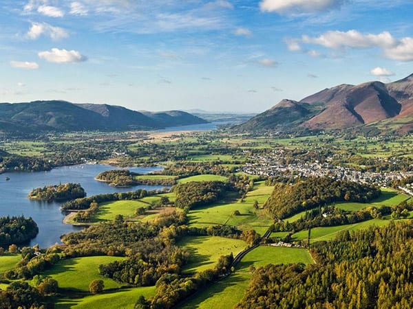 About Keswick, the Lake District